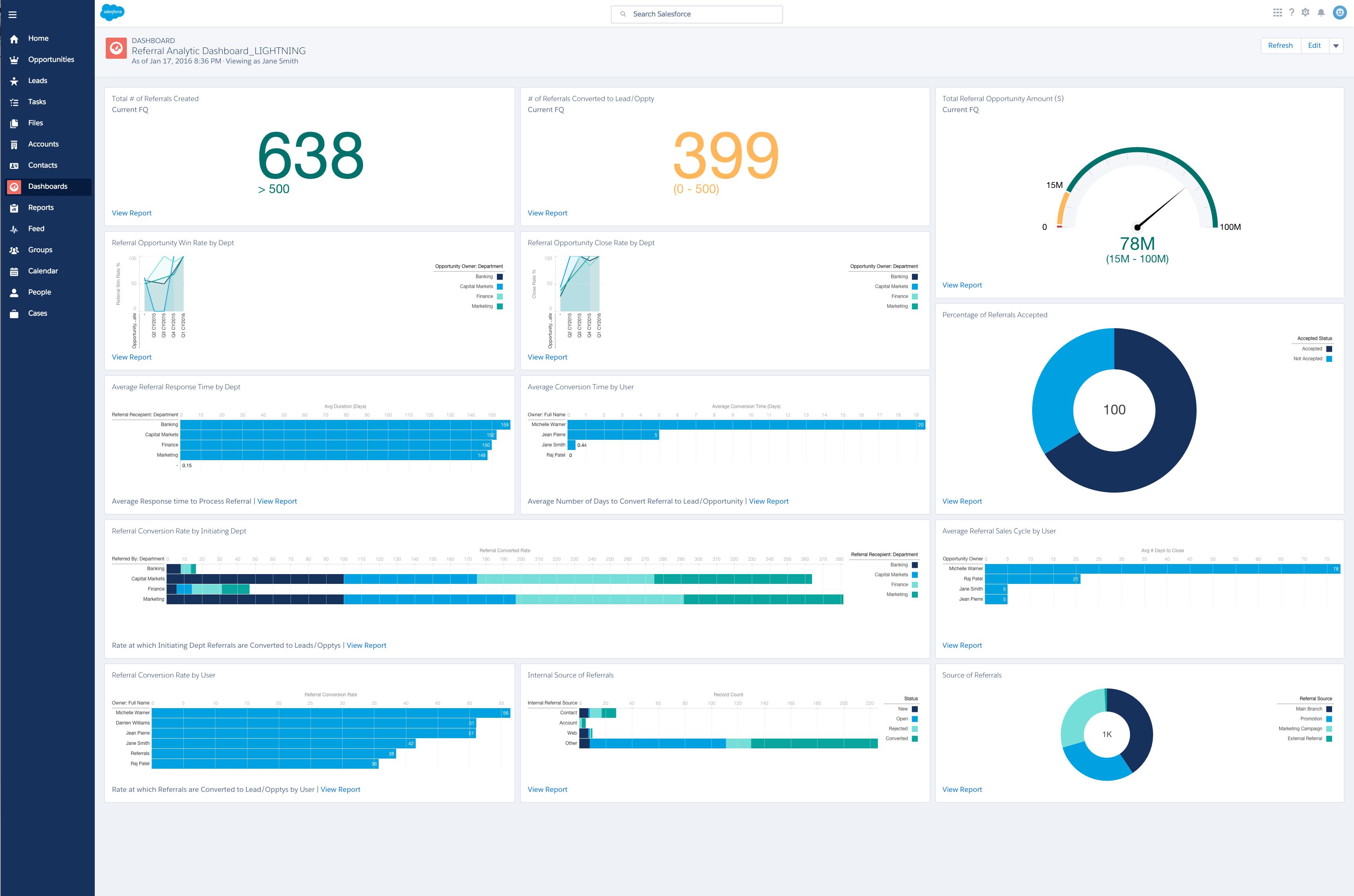 Screenshots – Referral Tracker Pro